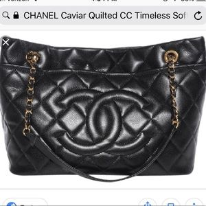 Chanel Hobo Timeless GST Soft Quilted Jumbo